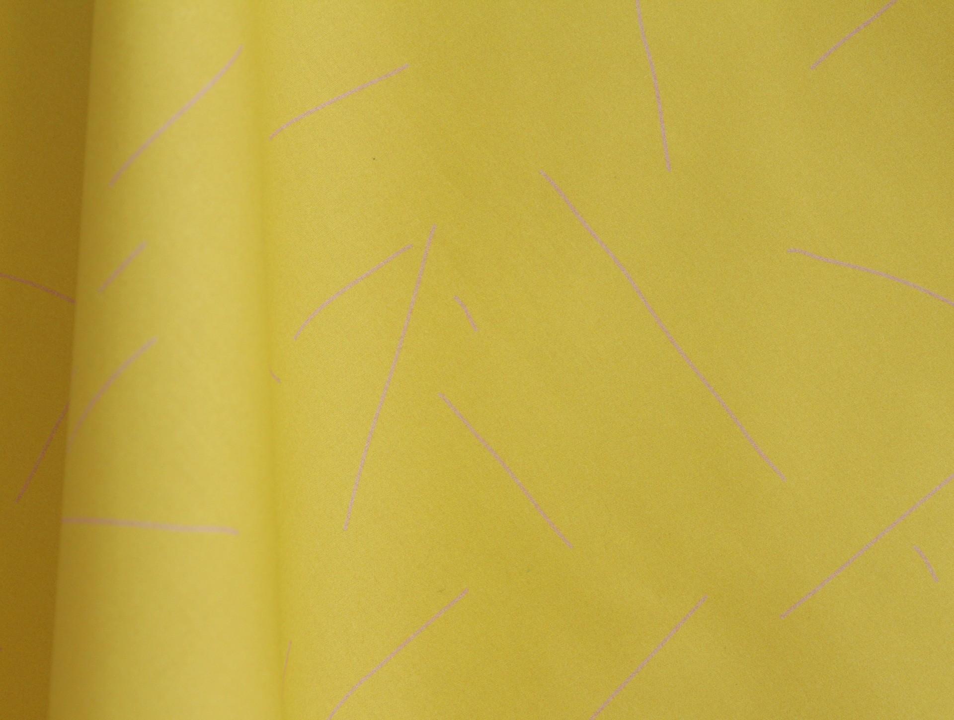 stof geel | roze 0,5 m