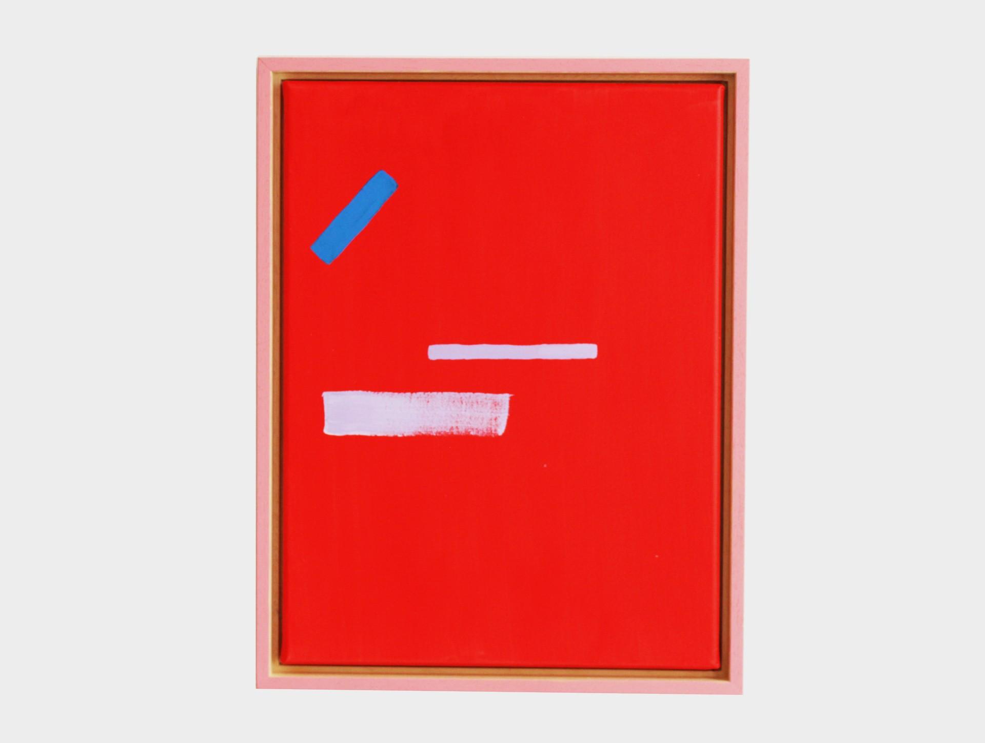 Schilderij rood