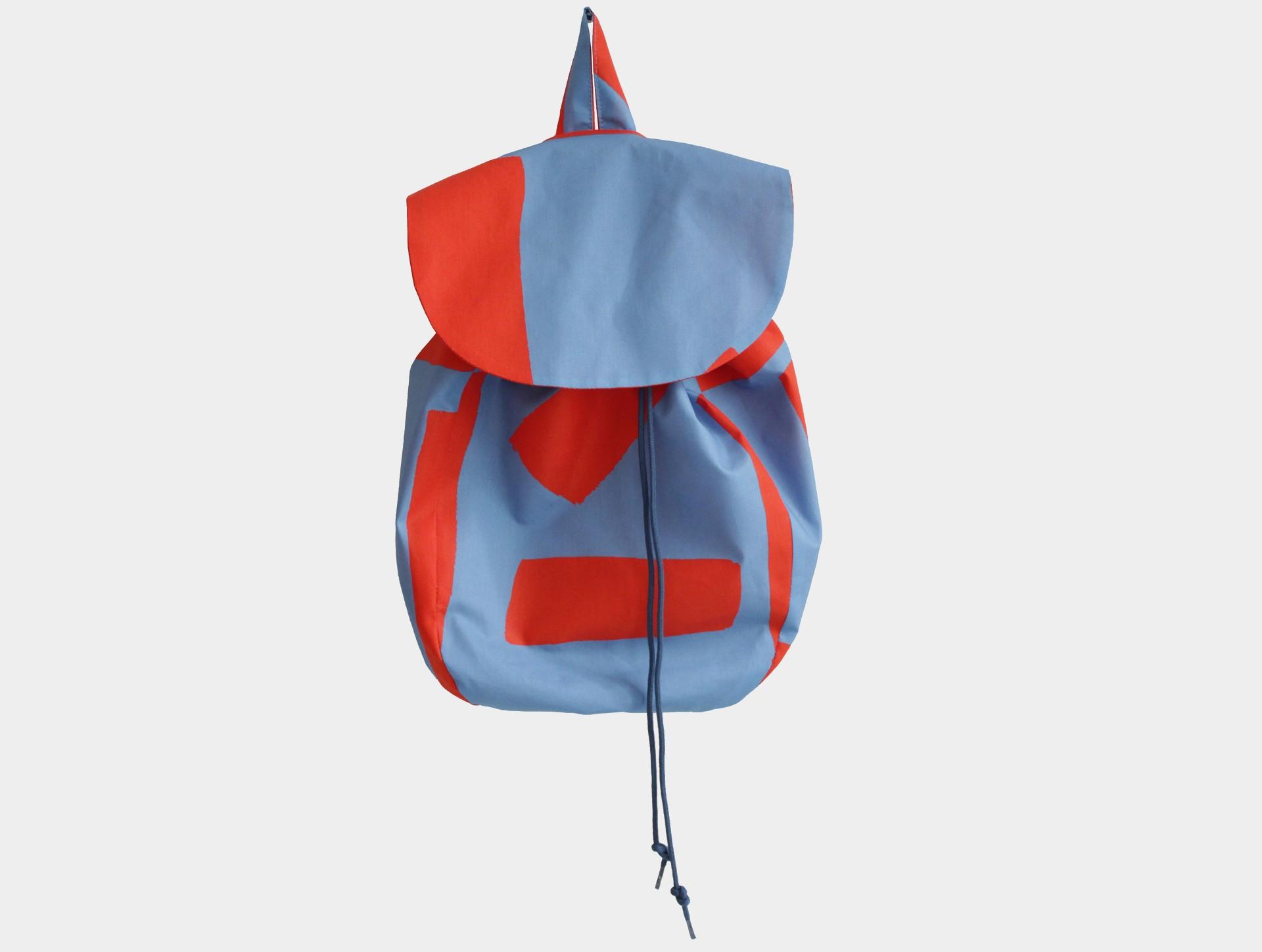 Children's backpack blue | red