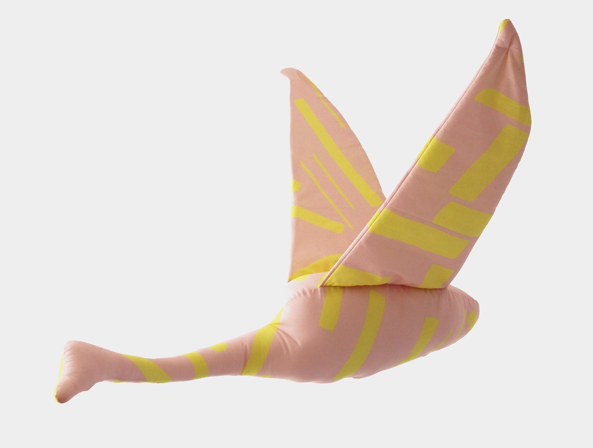 Zwaan roze | geel
