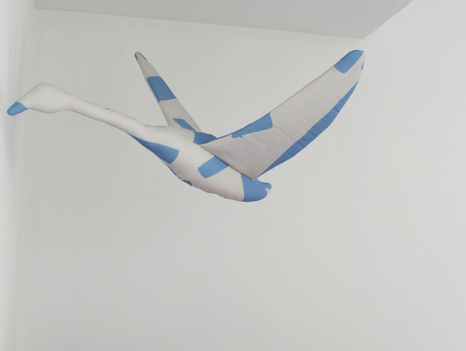 Zwaan S grijs | lichtblauw