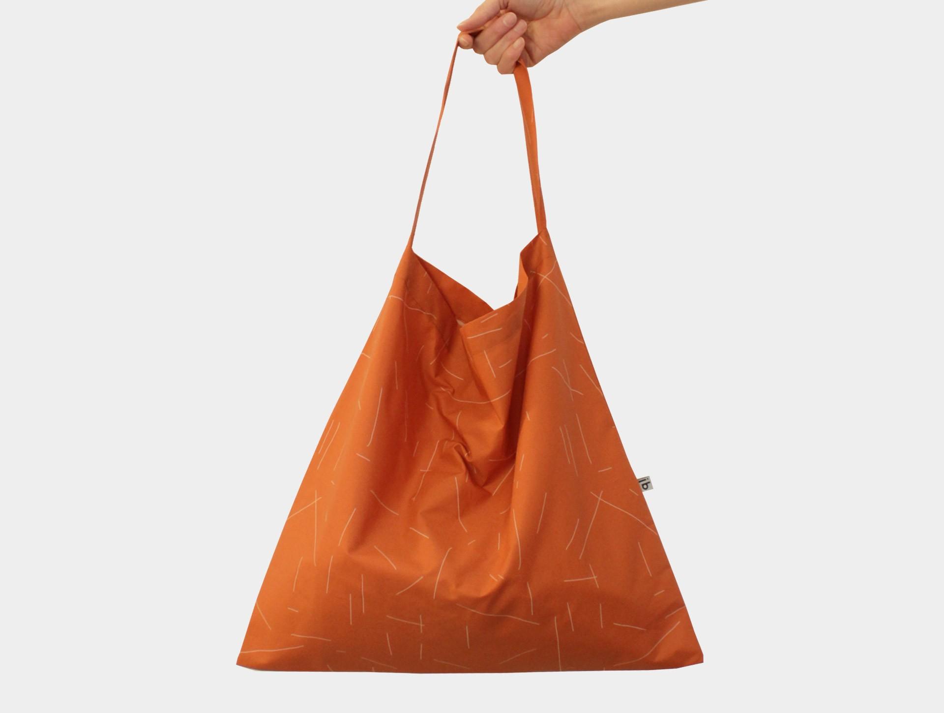 Simple bag rustbrown | pink