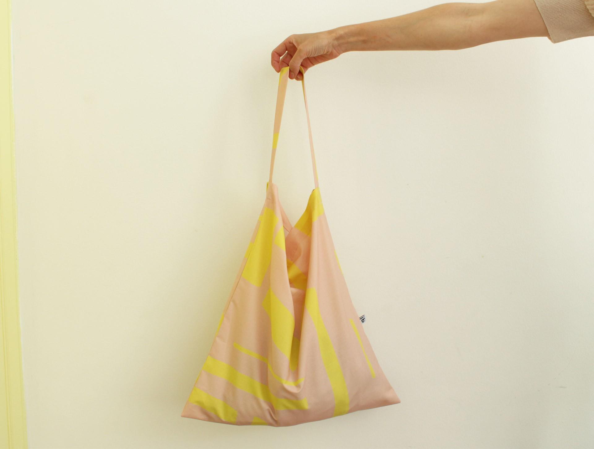 Simple bag pink | yellow